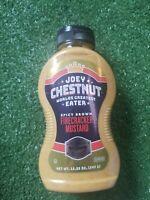 Joey Chestnut Hot Dog Champion Firecracker Mustard 12.25 oz Squeeze Bottle