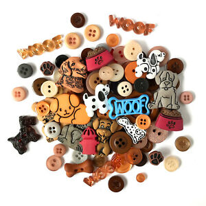Buttons Galore 50+ Button Value Pack for DIY Crafts,Sewing,Quilts,Scrapbooking