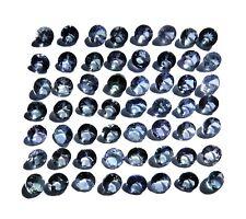 Tanzanite - rond, brillant - 56pcs - 5.9Cts - 3mm - sertissage