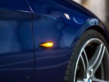 LED Seitenblinker Blinker Dynamisch Black Smoke Design 12V für BMW E-Prüfzeichen