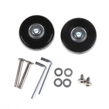 2pcs Luggage Suitcase Replacement Wheels Axles Repair Parts 50*21mm^~^