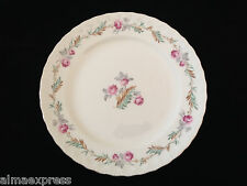 "PG Pope Gosser LARGO #3195 CCP China Pink Flowers Brown Leaves 10"" DINNER PLATE"