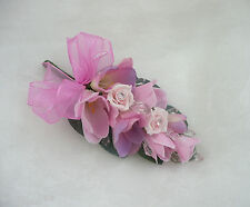 Wedding Flower Buttonholes Corsage Pink Freesia & Rose..... Pin on A