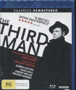 The Third Man (Blu-ray, 2017) - Orson Welles, Joseph Cotten, Alida Valli