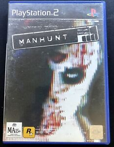 Manhunt PLAYSTATION 2 Sony PS2 Boxed Complete RARE