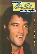OFFICIAL ELVIS PRESLEY FAN CLUN MAGAZINE 2007 JUNE/JULY