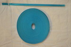 "Webbing - 1/2"" x 16 ft - Light Weight Nylon - Turquoise (H64)"