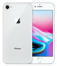 Apple iPhone 8 64GB ITALIA Silver Bianco Retina 4G LTE NUOVO Smartphone 4K 3D