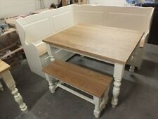HAMPSHIRE 4' PAINTED TABLE SOLID OAK & SOLID PINE MORE SIZES & COLOURS HAND MADE