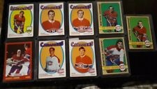 VINTAGE O-PEE CHEE MONTREAL CANADIENS LOT [9]