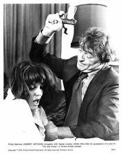 The Big Sleep 1978 original 8x10 photo Robert Mitchum pistol whips Joan Collins