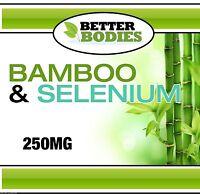 Le Plus Haut Silice Bambou 250mg Aide Améliore Peau Articulations Douleur