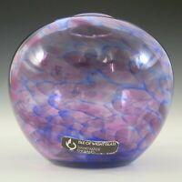 Isle of Wight Glass Studio / Michael Harris 'Heather' Globe Vase