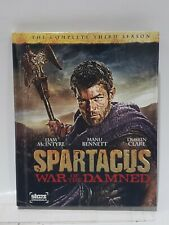 Spartacus: War of the Damned (Blu-ray Disc, 2013, 3-Disc Set)