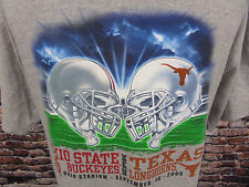 Ohio State vs Texas Longhorns College Football September 2005 XL T Shirt
