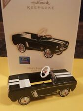 Hallmark: 1964 1/2 Ford Mustang - Kiddie Car Classics Special Edition Dated 2007