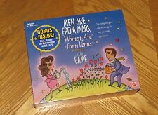 Men are From Mars Women are from Venus Board Game - Vintage 1998 Mattel - Sealed