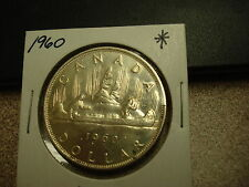 1960 - Canada silver dollar - Canadian