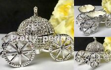 Ring Box Proposal Carriage Jewelry Box Engagement Pumpkin Wedding Rings Holder
