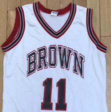 Brown University Basketball Jersey Womens L White NCAA Sports Lady Champion USA