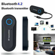 Bluetooth 4.0 Transmitter Audio Wireless Adapter 3.5mm TV Jack A2DP Stereo E6Y3