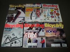 1995 BICYCLING MAGAZINE LOT OF 10 - CYCLE - GREAT COVERS & PHOTOS - PB 161A