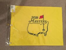 2016 MASTERS GOLF FLAG OFFICIAL NEW SEALED