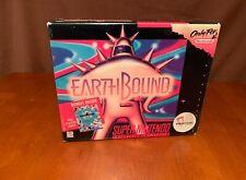 Earthbound SNES Big Box Authentic Super Nintendo CIB Complete 1994