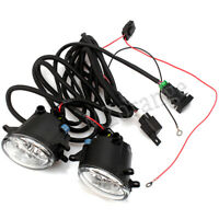 2X LED Front Fog Light Lamps Wiring For Toyota Kluger Corolla Camry Tarago Lexus