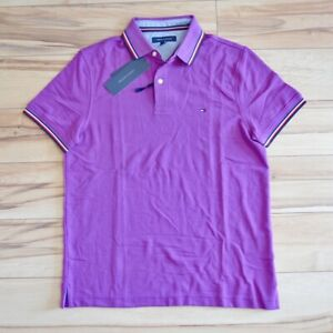 NWT Men's Tommy Hilfiger Short-Sleeve Classic Fit Polo Shirt Size S - XXL
