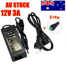 Power Supply Adapter Transformer AC240V To DC12V 3A for LED Strip Light AU Local