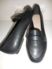 Flat Black Slip On Shoes Size 8 Wide Fit (EEE) BNWT From Evans
