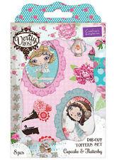 Crafter's Companion Verity Rosa Fustella Topper Decorazioni per carte/