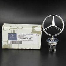 Mercedes-Benz OEM Front Hood Ornament Mounted Star Logo Badge Emblem