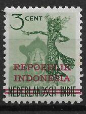 Ned. Indie Repoeblik Indonesia Java- Madoera Zonnebloem 5