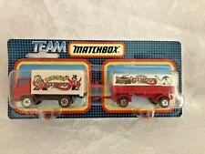 Matchbox Team Big Top Circus Container Truck & Trailer (M10)