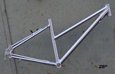 """Trekkingrad Sport Damen Rahmen Fahrrad 40 cm silber 28"""" Aluminium STD NR736"""