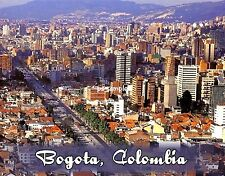 Colombia - BOGOTA - Travel Souvenir Fridge Magnet