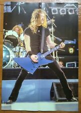 METALLICA - This is Rock Magazine 2 Large Posters 40.5 x 58 cm - JAMES HETFIELD