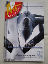 AIR ACTUALITES 599 EXERCICE IROQUOIS SCALP EJECTION SIEGE EJECTABLE ATLANTIQUE