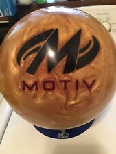 15# Motiv Golden Jackal Bowling Ball, Used, Exc