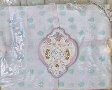 2 Rachel Ashwell Shabby Chic™ Green Blossom 1 Pair Pillowcases Pillowslips New