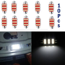 10Pcs 4014 41mm 12SMD C5W LED Lights  Festoon Dome Car License Plate Lamp