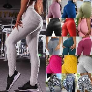 rose weich mittlere Taille S Mingtian Yoga-Hose f/ür Damen Anti-Cellulite-Leggings