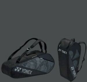 2021 YONEX 6-Racquet Active Racquet Bag, BA82026EX, 77x 26x 32 cm, Black