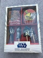 Star Wars Rebel Alliance Cupcake Decorating Kit - new!