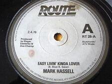 """MARK HASSELL - EASY LIVIN' KINDA LOVER  7"""" VINYL PROMO"""
