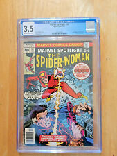 MARVEL SPOTLIGHT #32~ORIGIN & 1ST APP SPIDER-WOMAN **CGC 3.5 OW TO WHITE PAGES**