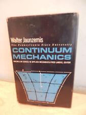 Continuum Mechanics By Walter Jaunzemis MacMillan Series in Applied Mechanics