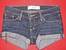 Women's Abercrombie & Fitch Denim Jean Shorts Size 00
